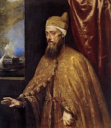Titian - Portrait of the Doge Francesco Venier - WGA22975.jpg