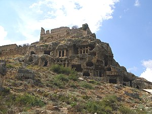 Tlos - Lycian rock tombs