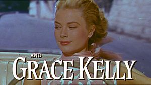 Screenshot of Grace Kelly from the trailer of ...