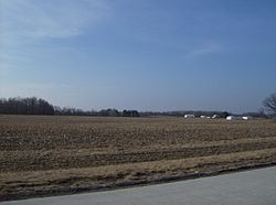 Much of Tod Township is flat farmland