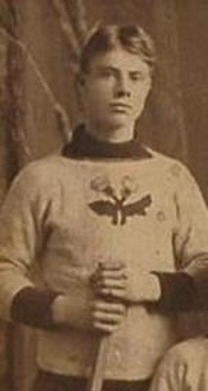 Tom Hooper (ice hockey) - Hooper with the Rat Portage Thistles around 1900.