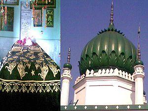 Syed Faiz-ul Hassan Shah - tomb and grave of Syed Faiz ul Hasan Shah.