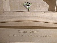 Tomb of Émile Zola in Panthéon.jpg