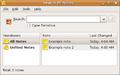 Tomboy 0.10.2 main screen.png