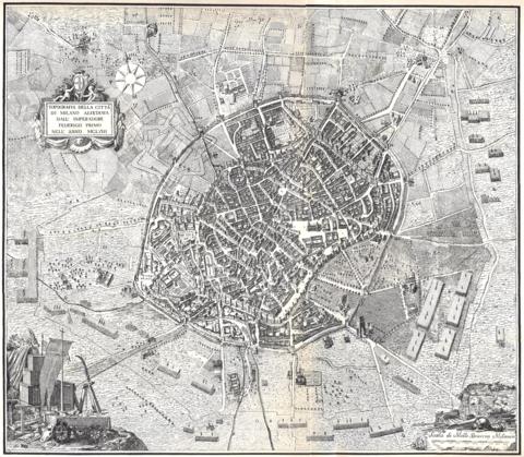 Cartina Milano 800.Storia Di Milano Wikipedia