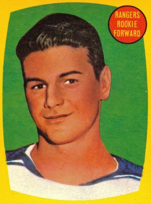 Rod Gilbert - Image: Topps 1960 Rod Gilbert