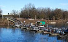Torre d'Oglio, ponte di barche del 1926