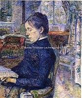 Toulouse-Lautrec - COMTESSE ADELE DE TOULOUSE-LAUTREC, 1881, MTL.53.jpg