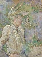 Toulouse-Lautrec - GABRIELLE LA DANSEUSE, 1890, MTL.130.jpg