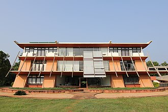 Auroville - Town hall of Auroville