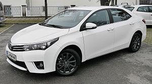 Toyota Corolla - Image: Toyota Corolla Style (2016 European version)