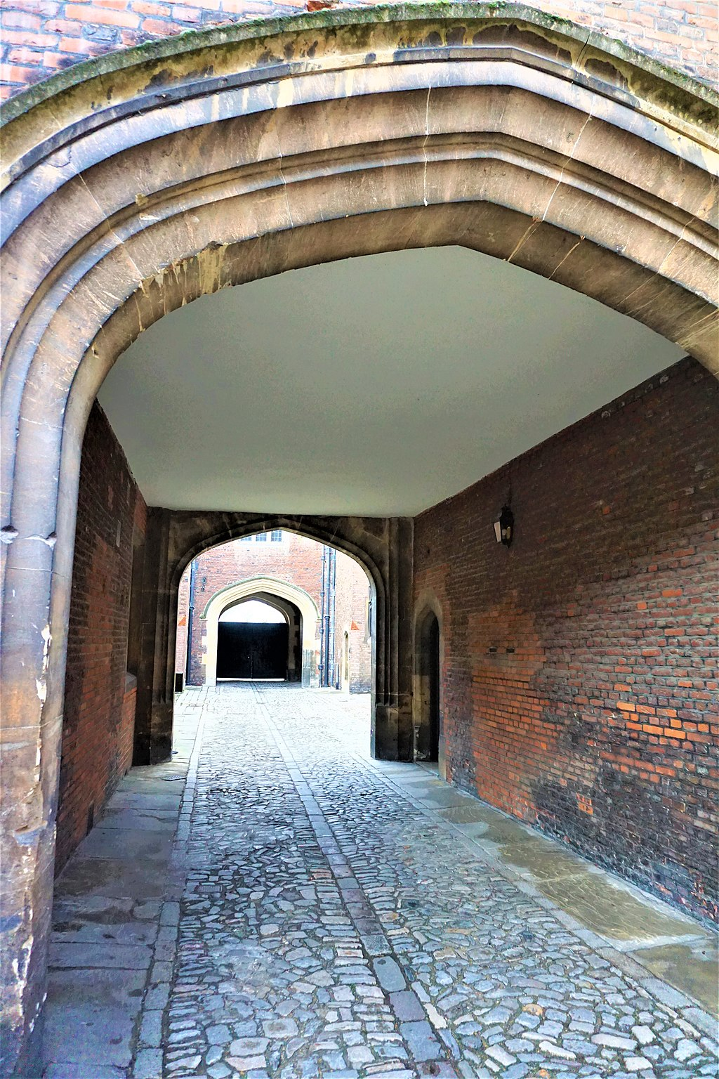 Tradesman's Entrance Areas - Hampton Court Palace - Joy of Museums 2