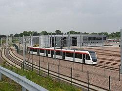 Tram on test (geograph 3505883).jpg