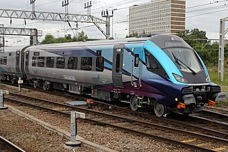 TransPennine Express - Image: Trans Pennine Exress Mark 5a first test at Crewe