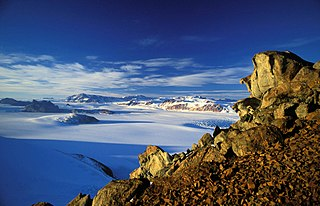 mountain range in Antarctica