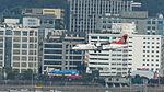 Transasia Airways ATR 72-212A B-22807 on Final Approach at Taipei Songshan Airport 20150104b.jpg