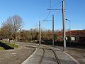 Travaux de la branche vers Vieux-Condé de la ligne B du tramway de Valenciennes en décembre 2013 (245).JPG