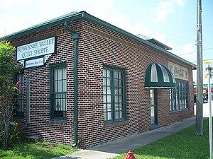 Coca-Cola Bottling Plant (Trenton, Florida) - Image: Trenton Coca Cola bldg 06