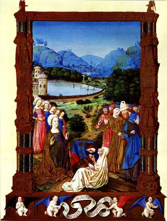 Tres Riches Heures Jean de Colombe true Cross