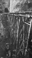 Trestle viaduct leading to the tunnel of the Taringamotu Tramway built in 1922.png