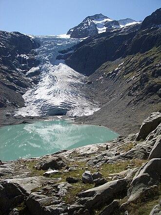 Trift Glacier - Image: Triftgletscher 01