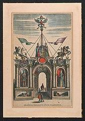 Triomfboog voor het vroegere huis van de Fuggers (2)