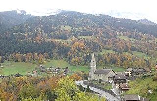 Troistorrents Municipality in Switzerland in Valais