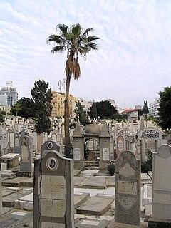 Trumpeldor Cemetery historic cemetery on Trumpeldor Street in Tel Aviv, Israel