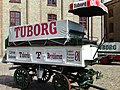 Tuborg brewery wagon, Carlsberg Visitor's Center.jpg