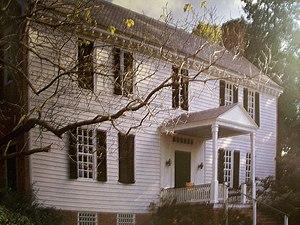 Tuckahoe (plantation) - Tuckahoe plantation's southern wing