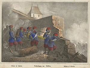 Siege of Silistra - Turkish troops at the defence of Silistria 1853-4
