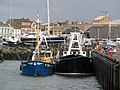 Two mussel dredgers at the central pier, Bangor - geograph.org.uk - 736765.jpg
