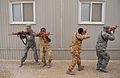 U.S. Airmen assigned to the 379th Expeditionary Security Forces Squadron and military members with a partner nation perform tactical movements during training at an undisclosed location in Southwest Asia 131120-F-EN483-180.jpg