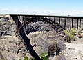 U.S. Highway 93 bridge over Snake River Canyon near Twin Falls, Idaho.jpeg