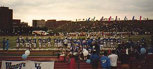 Buffalo Bulls football - Buffalo Bulls vs. Canisius at UB, October 1991