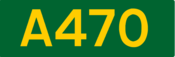 A470 road shield
