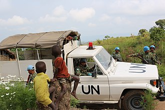 Ituri conflict - UN forces in Ituri in 2013