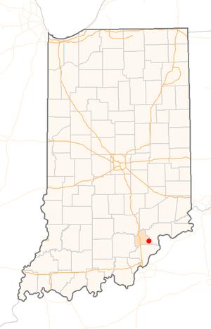 Lexington, Indiana - Image: US IN Lexington