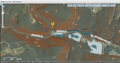 USGS National Map viewer showing Kittanning Run, Pennsylvania location near Altoona--MIxed Mode topo+Sat.png