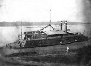 USS Cincinnati (1861) - Image: USS Cincinnati 1862 1865 H63211