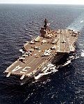 USS Constellation (CVA-64) underway at sea in April 1973 (NNAM.1996.488.103.059).jpg