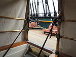 USS Constitution Stairs.JPG