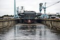 USS Gerald R. Ford dry dock flooding, 20131011.JPG