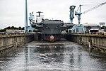 USS Gerald R. Ford dry dock flooding, 20131011.JPG