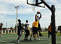 USS Gravely sailors play basketball with CGC Escanaba crew 120919-N-NL541-049.jpg