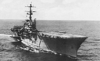 USS Guam (LPH-9) - Guam in the Caribbean, 1965.