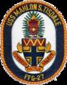 USS Mahlon Tisdale (FFG-27) Crest.png