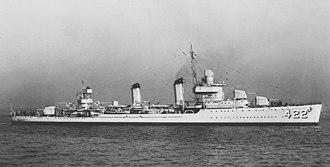 USS Mayo - USS Mayo (DD-422) in 1940
