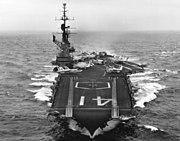 USS Midway (CV-41) underway 1963