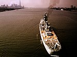 USS Newport News (CA-148) on the Hudson River 1974.jpg